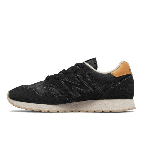 【New Balance 】520 經典復古鞋 WL520BK-B  女 黑色