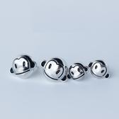 925純銀耳環(耳針式)-可愛復古調皮小猴子生日情人節禮物女飾品73dr33【時尚巴黎】