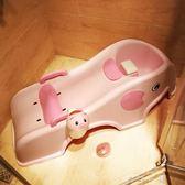 兒童可折疊躺椅寶寶洗頭椅小孩洗頭床加大號嬰兒洗發架洗頭神器     米娜小鋪igo