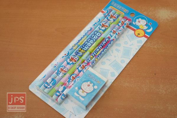 哆啦A夢 木頭鉛筆組 (小雞)