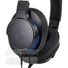 【曜德】ATH-MSR7b 黑色 便攜型耳罩式耳機 /送收納盒