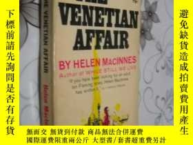二手書博民逛書店The罕見Venetian Affair by Helen Ma