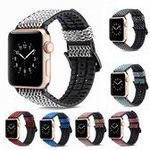 Apple Watch Series 錶帶 S6錶帶 S5錶帶 S4錶帶 S3錶帶 魚鱗紋 蘋果錶帶 38mm 40mm 42mm 44mm