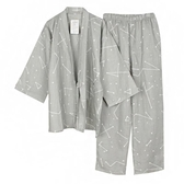 日本和服男泡溫泉汗蒸服裝漢服純棉睡衣【奇趣小屋】