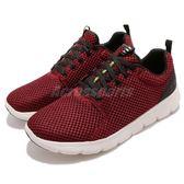 Skechers 慢跑鞋 Marauder 紅 白 彈力網布鞋面 緩震舒適中底 男鞋 運動鞋【PUMP306】 52832RED