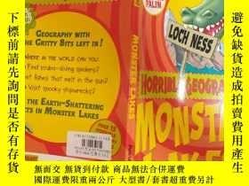 二手書博民逛書店Monster罕見Lakes (Horrible Geography):怪物湖(可怕的地理)Y200392