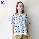 【秋冬降價款】American Bluedeer - 彎條紋寬鬆上衣(特價) 秋冬新款