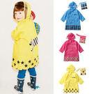 雨衣。韓版卡通動物圖案兒童雨衣 (AV41001) *繪米熊童裝*