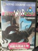 挖寶二手片-P15-369-正版VCD-其他【野生動物地球村:恐龍與爬蟲生物】-(直購價)