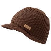 [好也戶外]mont-bell 2WAY CAP 羊毛兩用帽 卡其/碳黑 NO.1118239