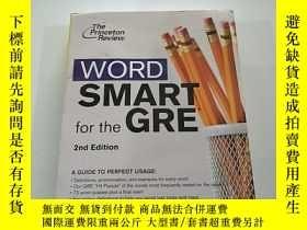 二手書博民逛書店WORD罕見SMART for the GREGRE的SMART一詞Y384707