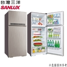 【SANLUX台灣三洋】480公升 雙門變頻電冰箱 SR-C480BV1B