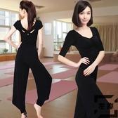 瑜伽套裝女運動莫代爾薄款初學者專業瑜珈服【左岸男裝】