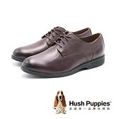 【南紡購物中心】Hush Puppies Shepsky PT 正裝綁帶款皮鞋 男鞋-棕(另有黑)