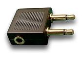 平廣 飛機轉接頭 3.5mm 接頭規格 耳機接頭轉換成到 飛機 轉接頭 轉接器 飛機耳機轉接頭 3.5接頭