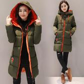 新款棉衣女中長款韓版冬裝加厚外套修身時尚小棉襖百搭大碼潮