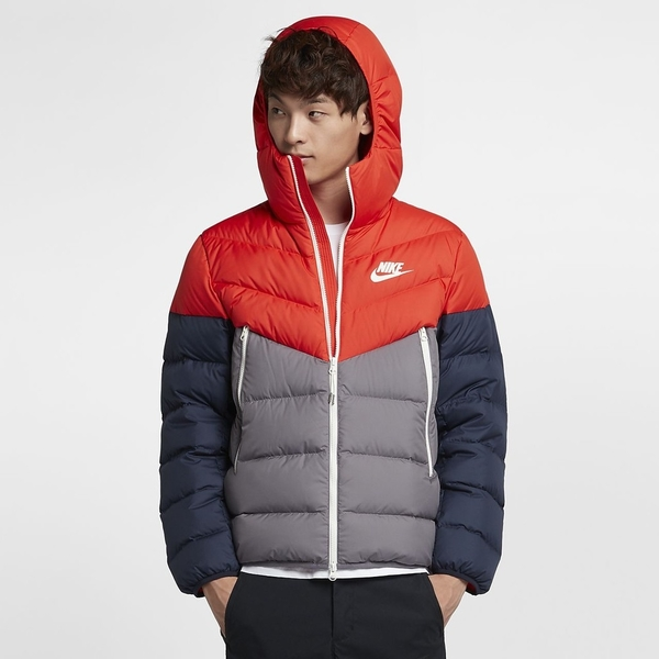 Nike 服飾系列 NSW Jacket -男款連帽羽絨外套- NO.928834634