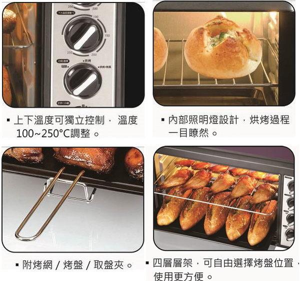 【東元】42公升雙溫控大烤箱XYFYB4221 保固免運-隆美家電