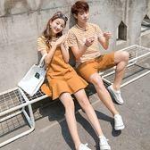 【雙十二】秒殺[]不一樣的情侶裝夏裝2018新款韓版連衣裙氣質夏季男女ins超火套裝gogo購
