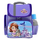 【迪士尼】小公主蘇菲亞立體護脊書包 紫色