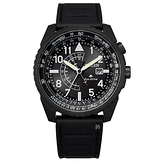 CITIZEN 星辰 航空 光動能 兩地時間手錶 BJ7135-02E _42.5mm
