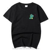 現貨速達 純棉短T MIT台灣製 短袖t恤【Y0882-11】短袖-彩色獨角獸 愛心小恐龍