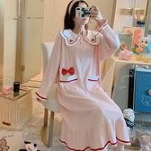 孕婦洋裝 新款孕婦裝秋純棉產后大碼孕婦連衣裙產婦哺乳裙一件代發 伊莎公主