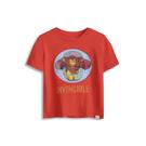 Gap男幼Gap x Marvel漫威系列棉質舒適印花圓領短袖T恤548758-珊瑚紅