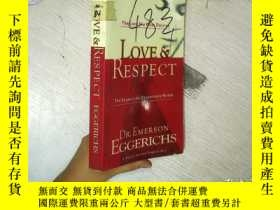 二手書博民逛書店Love罕見& Respect:The Love She Mos