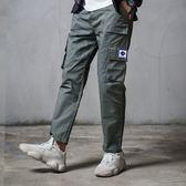 大口袋抽繩縮口褲【EV-K1818】(ROVOLETA)