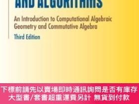 二手書博民逛書店Ideals,罕見Varieties, And AlgorithmsY255174 David A. Cox