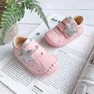 Swan天鵝童鞋-Star星星格紋學步寶寶鞋1605-粉