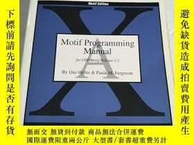 二手書博民逛書店Motif罕見Programming Manual(書內有少許畫