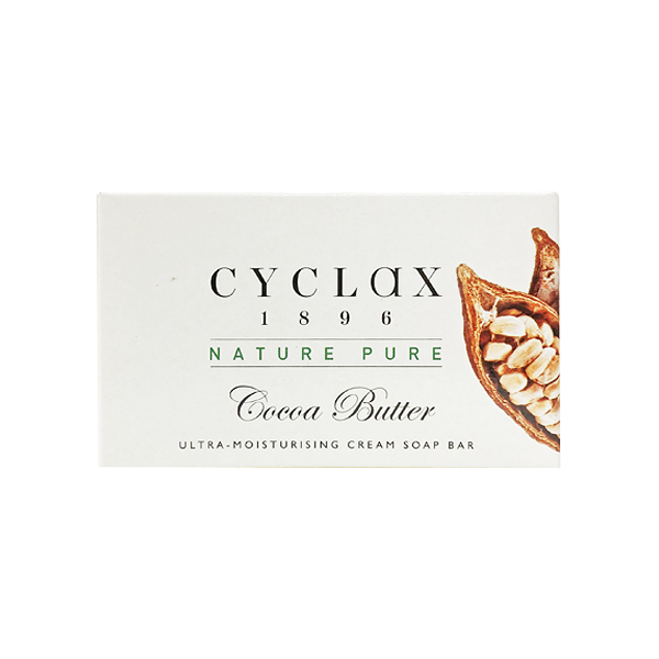 英國進口 CYCLAX 保濕乳霜皂 可可油款 90g (Cocoa Butter Cream Soap)