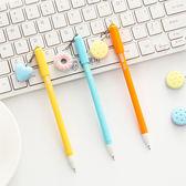 【BlueCat】甜甜圈小愛心夾心餅乾吊飾中性筆