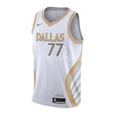 Nike 球衣 Luka Doncic Dallas Mavericks City Edition Swingman Jersey 白 金 男款 城市版 獨行俠隊 【ACS】CN1723-101