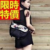 尼龍側背包-大容量可肩背設計百搭男女郵差包1色57b48[巴黎精品]