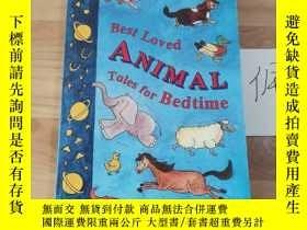 二手書博民逛書店Best罕見loved animal tales for bedtimeY246207