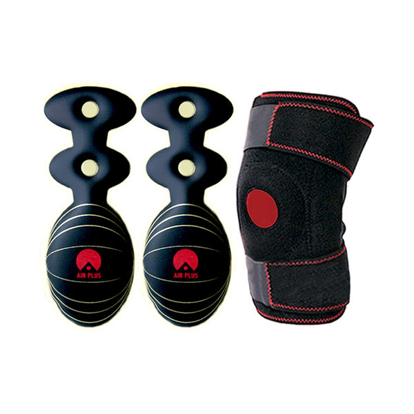 第二代智慧鞋墊(6雙)+日行千里頂級護膝(1個) 盛竹如李興文強力推薦