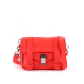 【PROENZA SCHOULER】mini cross-body斜背包(銀釦)(天竺葵紅) H00338 L001E 3072