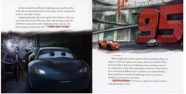 【麥克書店】CAR 3  /英文繪本附CD‧聽迪士尼說故事