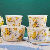 陶瓷密封保鮮碗四件套裝帶蓋保鮮家用廚房微波爐便當冰箱適用 DN12060【旅行者】