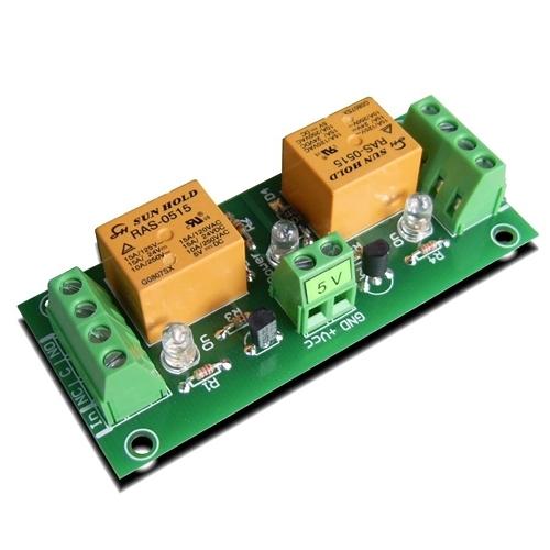 [2美國直購] denkovi 中繼板 2 Channel relay board for your Arduino DAE-RB/Ro2-5V