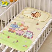 嬰兒涼席新生兒寶寶嬰兒床席子午睡專用幼兒園涼席兒童冰絲席夏季   IGO
