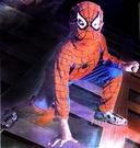 小蜘蛛人蒙面俠 萬聖節聖誕節服裝造型服化...