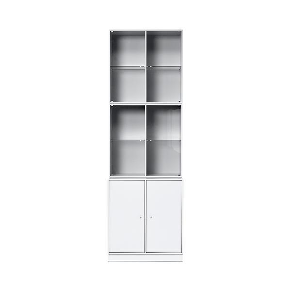 Montana Rise Cabinet with Glass Doors 升起系列 12 格 落地式 收納櫃(含玻璃櫃門)