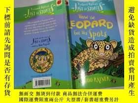 二手書博民逛書店how罕見the leopars got his spots:豹子是怎麽長出斑點的Y212829