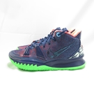 NIKE KYRIE 7 EP 男款 XDR 籃球鞋 CQ9327401 深藍X螢光綠 大尺碼【iSport】