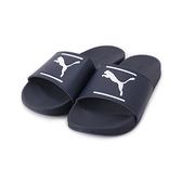 PUMA LEADACT FTR COMFORT 一片式運動拖鞋 藍 380673-02 男鞋