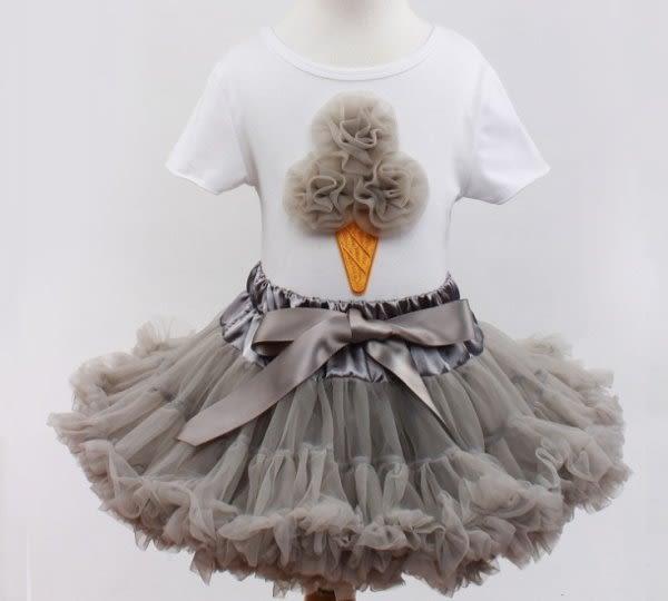 果漾妮妮 超澎公主澎澎裙套裝系列 寶寶 嬰兒 寫真 禮服 婚禮 攝影 花童 送頭花 【E0313】